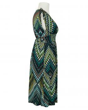Jerseykleid Print, grün (Bild 2)