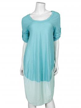 Kleid Baumwolle, azur (Bild 1)