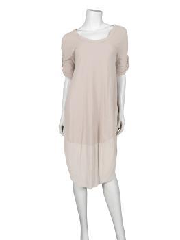 Kleid Baumwolle, beige (Bild 2)