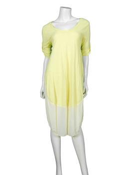 Kleid Baumwolle, gelb (Bild 2)