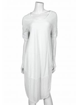 Kleid Baumwolle, weiss von Be One
