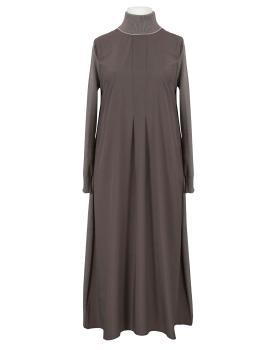Kleid A-Linie, braun von Made in Italy