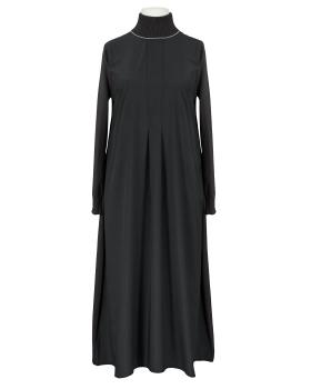 Kleid A-Linie, schwarz von Made in Italy