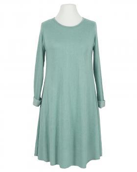 Kleid A-Linie mit Viskose, aqua von Diana