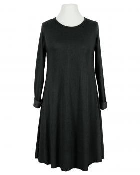 Kleid A-Linie mit Viskose, schwarz von Diana