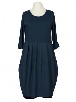 Kleid Ballon Linie, blau