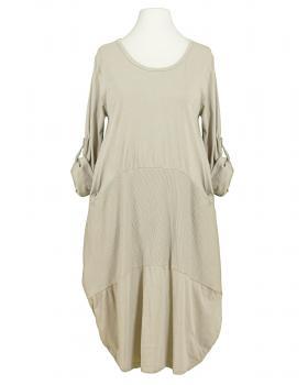 Kleid Ballonschnitt, beige von Spaziodonna (Bild 1)