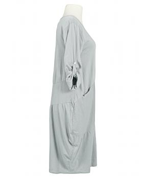 Kleid Ballonschnitt, hellgrau (Bild 2)