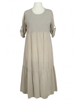 Kleid Baumwolle, beige