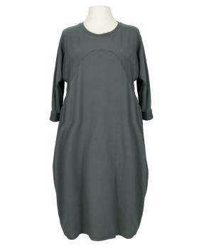 Kleid Baumwolljersey, grau