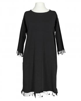 Kleid Baumwolljersey, schwarz von Made in Italy (Bild 1)