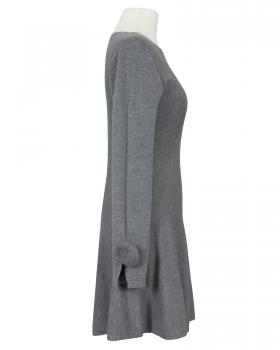 Kleid Feinstrick, grau