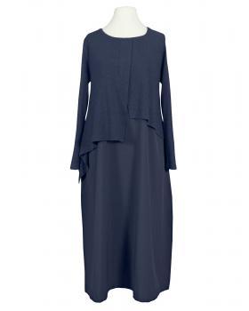 Kleid im Lagenlook, blau von Made in Italy von Made in Italy