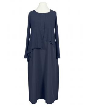 Kleid im Lagenlook, blau