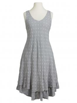 Kleid im Lagenlook, grau