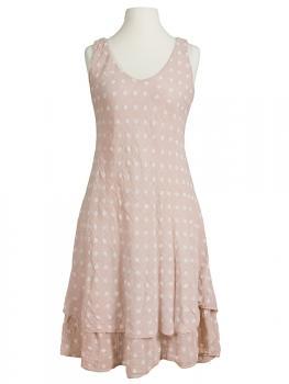 Kleid im Lagenlook, rosa von Diana