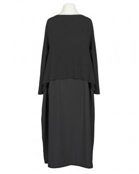 Kleid im Lagenlook, schwarz (Bild 2)