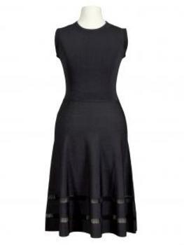 Kleid Jerseystrick, schwarz