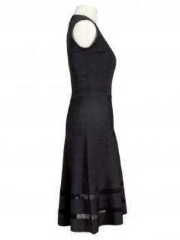 Kleid Jerseystrick, schwarz (Bild 2)