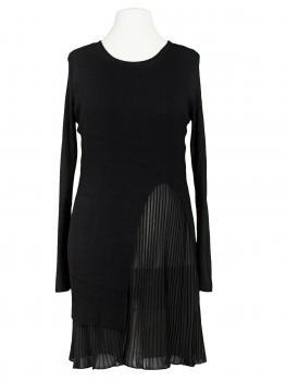 Kleid Lagenlook mit Chiffon, schwarz