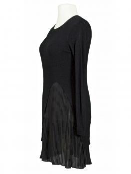 Kleid Lagenlook mit Chiffon, schwarz (Bild 2)