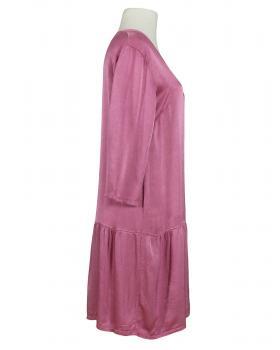 Kleid mit Seide, beere (Bild 2)