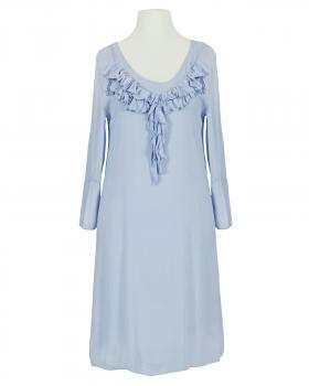 Kleid mit Seide, blau von Selected Touch