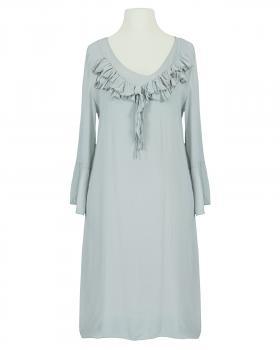 Kleid mit Seide, grau von Selected Touch
