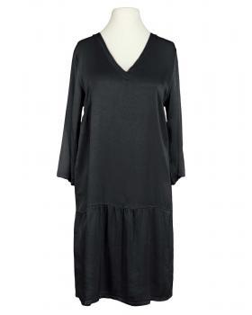 Kleid mit Seide, schwarz