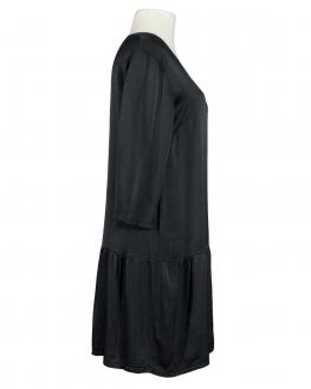 Kleid mit Seide, schwarz (Bild 2)