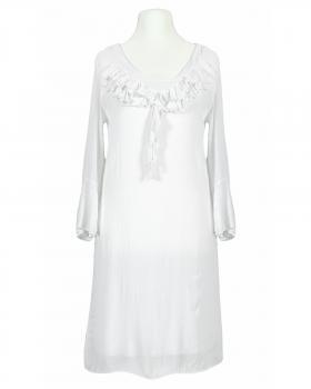 Kleid mit Seide, weiss von Selected Touch