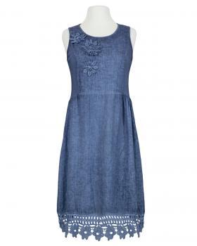 Kleid mit Spitze, blau von Diana