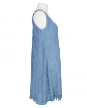 Kleid mit Spitze, jeansblau (Bild 2)