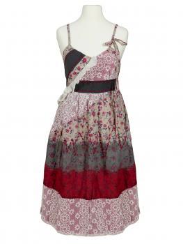 Kleid mit Spitze, multicolor von Lulu H von Lulu H
