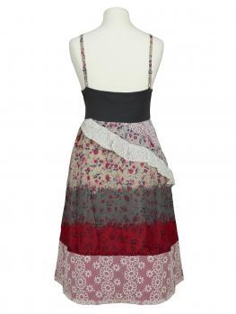 Kleid mit Spitze, multicolor