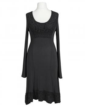 Kleid mit Spitze, schwarz von les frères