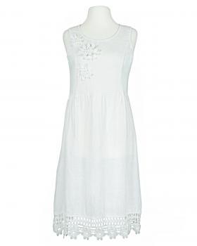 Kleid mit Spitze, weiss von Diana
