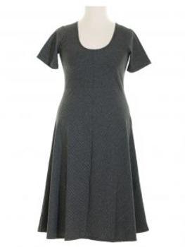 Kleid Streifen, schwarz (Bild 1)
