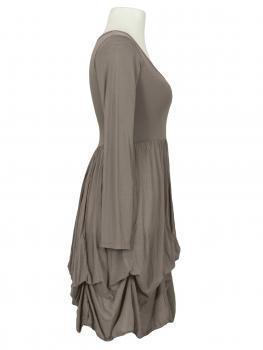 Kleid mit Volant, schlamm (Bild 2)