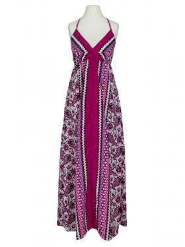 Kleid Print, fuchsia (Bild 1)