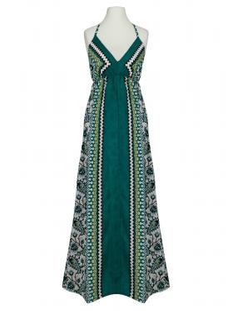 Kleid Print, grün von toi du monde