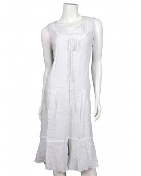 Leinen Kleid, weiss