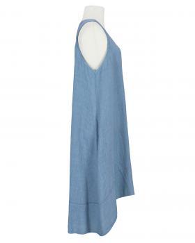 Leinenkleid A-Form, blau (Bild 2)