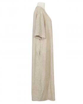 Leinenkleid lang, beige