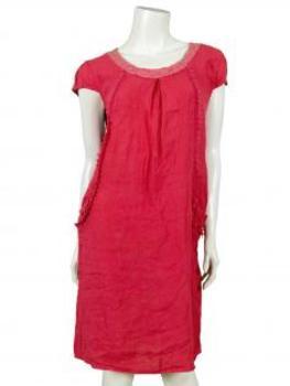 leinenkleid rot rote leinenkleider jetzt bei meinkleidchen. Black Bedroom Furniture Sets. Home Design Ideas