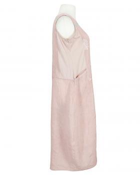 Leinenkleid mit Stickerei, rosa (Bild 2)