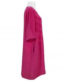Leinenkleid Stickerei, pink (Bild 2)