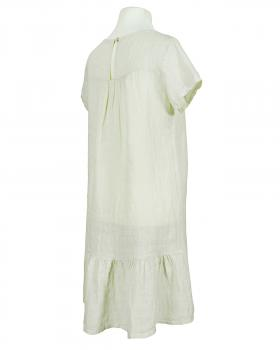 Leinenkleid Volant, beige (Bild 2)