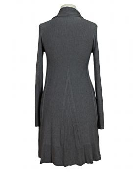 Long Strickjacke A Schnitt, grau