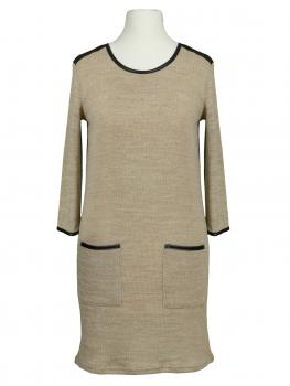 Damen Long Pullover, beige